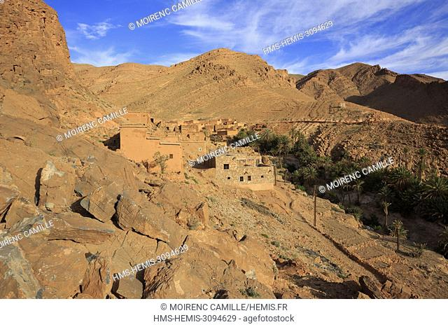 Morocco, Anti Atlas, Souss Massa region, Tata province, Tamsoulte, Dar Ahlam, Dream Houses, The South Road, The Red House