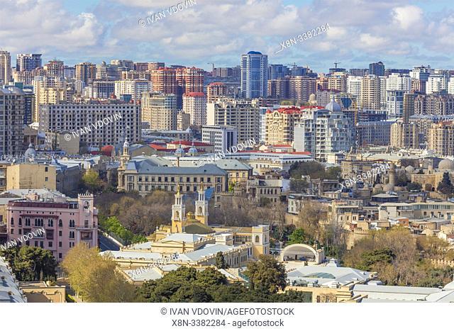 Cityscape, Baku, Azerbaijan