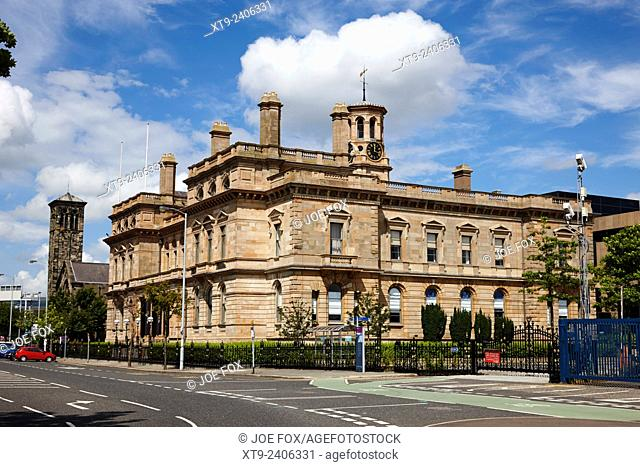 Belfast Harbour Commissioners office on corporation square Northern Ireland UK