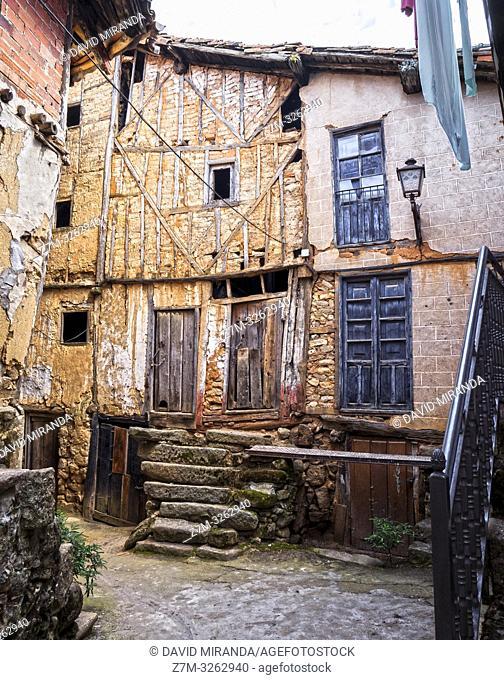 Arquitectura tradicional. Sequeros. Sierra de Francia. Salamanca. Castilla León. España
