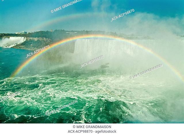 Rainbow over Niagara Falls Niagara Falls Ontario Canada