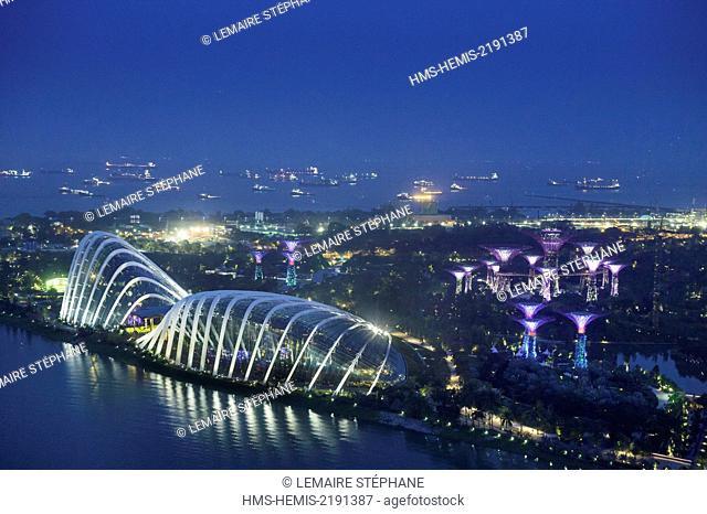 Singapore, Marina Bay, Singapore Flyer