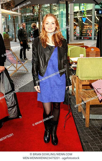 Blaue Blume 2016, The Blue Flower Awards, for romance television in Potsdamerplatz. Featuring: Guest Where: Berlin, Germany When: 10 Feb 2016 Credit: Brian...