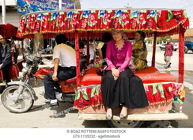 Public transport Xinjiang style
