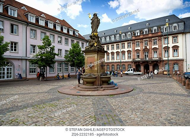 The Kommarkt in Heidelberg, Germany