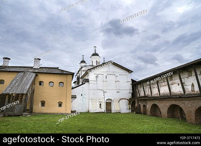 Church of Transfiguration at Kirillo-Belozersky Monastery, Russia