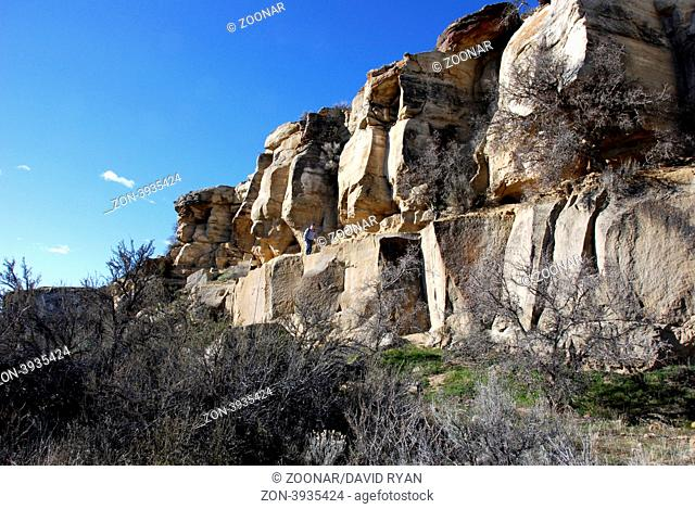 USA, Idaho, Boise, The Quarry on Table Rock Butte