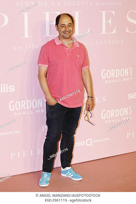 Jordi Sanchez attends the 'Pieles' premiere at Capitol cinema on June 7, 2017 in Madrid, Spain (Photo by Angel Manzano).