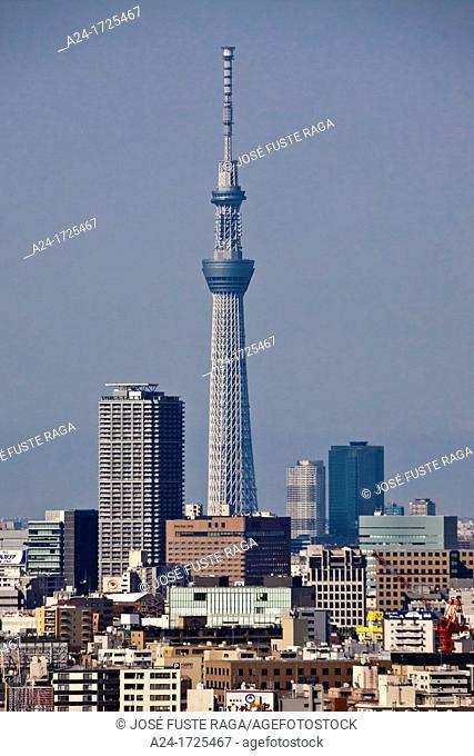 Japan , Tokyo City, The Sky Tree Tower