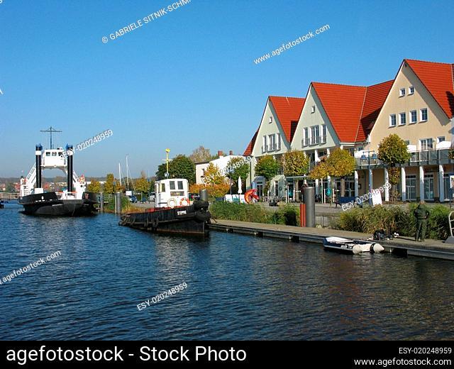 Wolgast, Boote im Alten Hafen