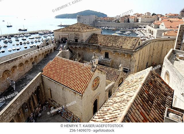 Dubrovnik, one of the most popular tourist destinations, Croatia, UNESCO