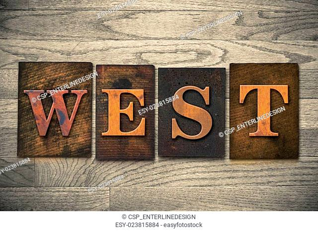 West Wooden Letterpress Theme