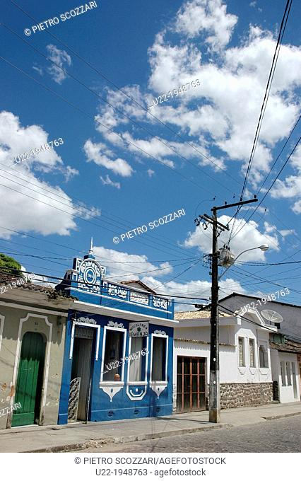 Cachoeira, Bahia, Brazil, houses