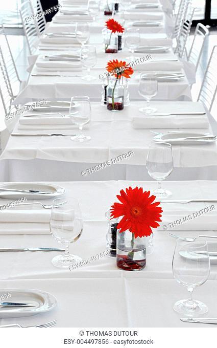 A white restaurant
