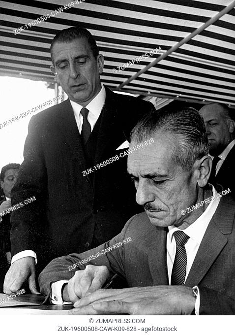 Oct. 2, 1966 - Rancagua, Chile - EDUARDO FREI MONTALVA (January 16, 1911 - January 22, 1982) was a politician who served as the President of Child from 1964...
