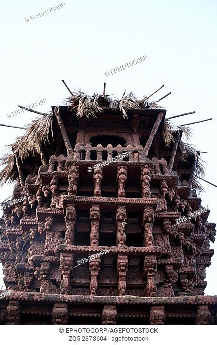 Chariot near Banashankari Amma temple, Badami, Karnataka