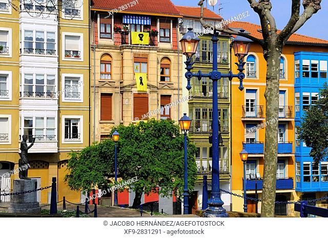Portugalete.Vizcaya province.País Vasco.Spain