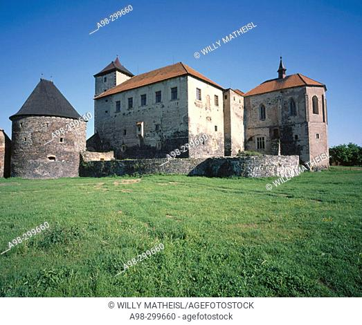 Svihov Water Castle. Bohmerwald. Czech Republic