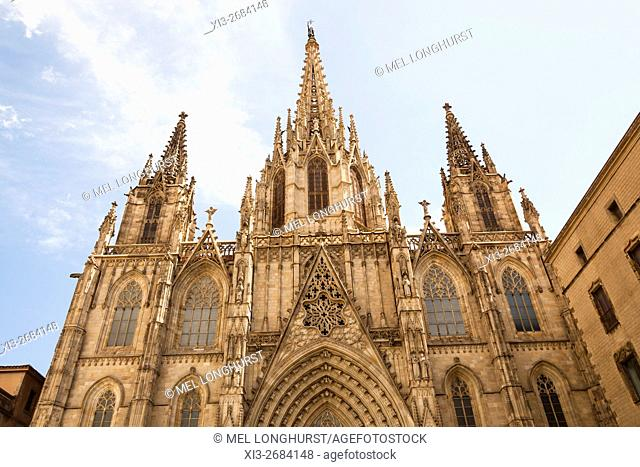 Barcelona Cathedral, Cathedral of the Holy Cross and Saint Eulalia, Barcelona, Spain