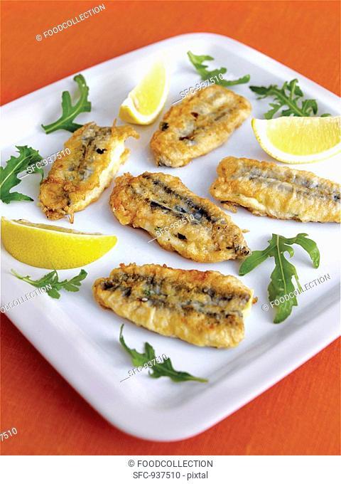 Alici ripiene Stuffed anchovies