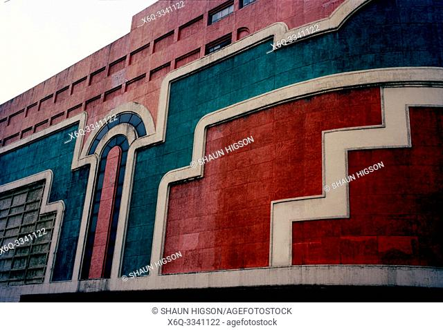 Art deco architecture in Manila in Luzon Metro Manila in the Philippines in Southeast Asia Far East