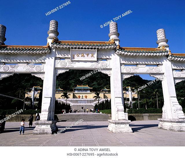 National Palace Museum. Taipei. Taiwan