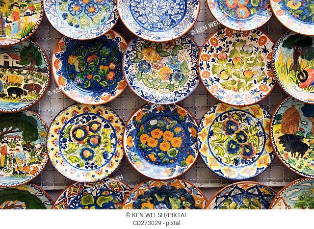 Plates, souvenirs. Portugal