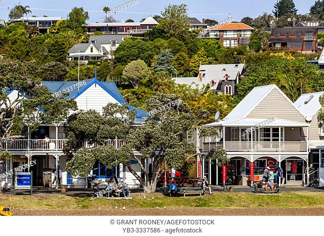 The Town Of Russell, The Bay Of Islands, North Island, New Zealand