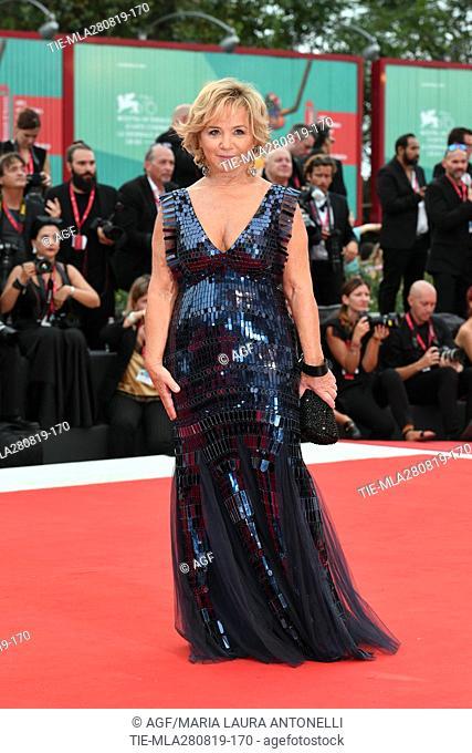 Alberta Ferretti during the opening ceremony and screening of 'La Verite' at the 76th annual Venice International Film Festival, in Venice, Italy
