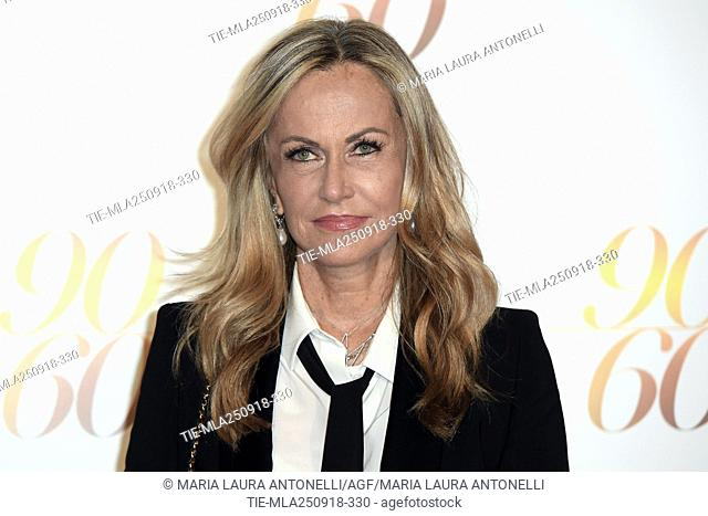 Nicoletta Spagnoli CEO Luisa Spagnoli during red carpet of 60/90 party, for 60 years of career and ninetieth birthday of Fulvio Lucisano, Italian Film Producer