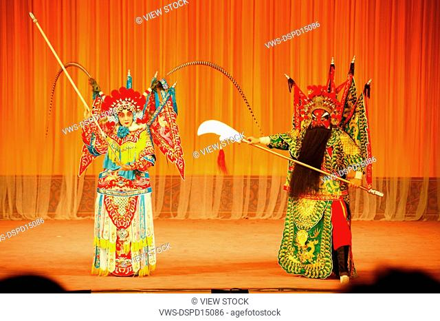 Beijing opera performance,China