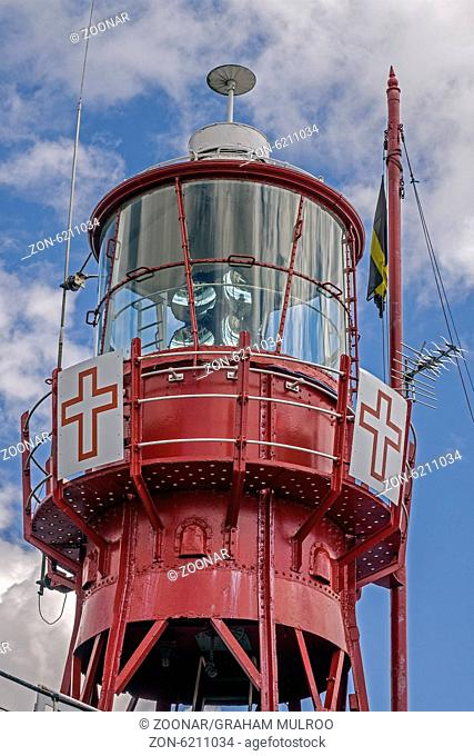 The Lightship Helwick Moored In Cardiff Bay Glamor