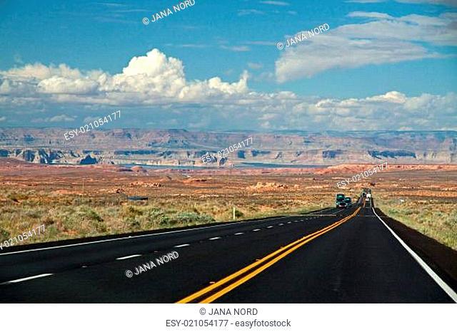 Straße zum Lake Powell