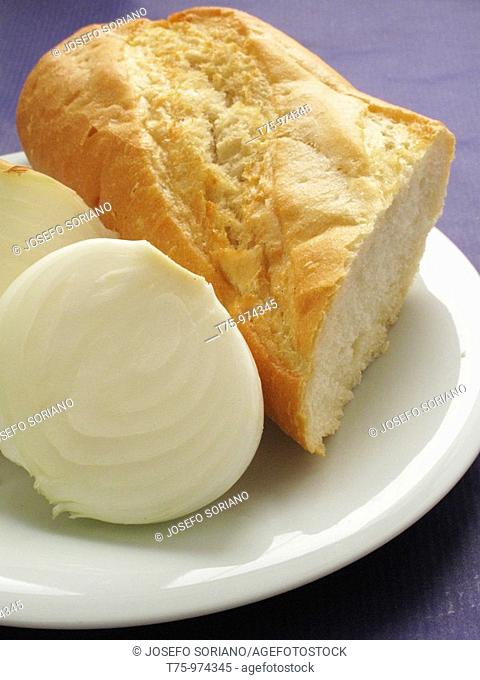 Bread and onions