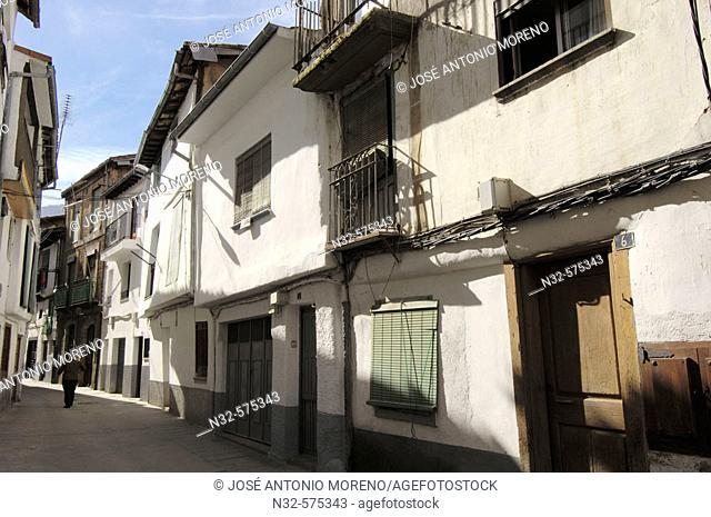 Jewish quarter, Hervas. Ambroz Valley, Caceres province, Extremadura, Spain