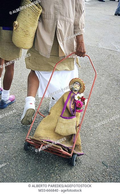 Pilgrimage to San Lazaro church in Rincon village. Cuba