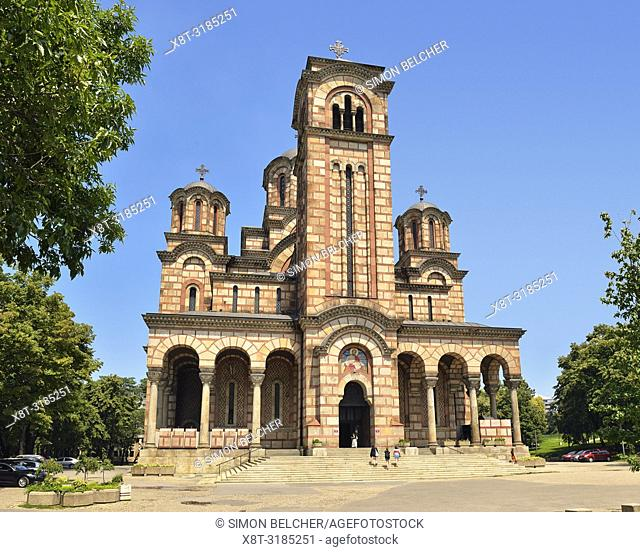 St Marks Church, Belgrade, Serbia