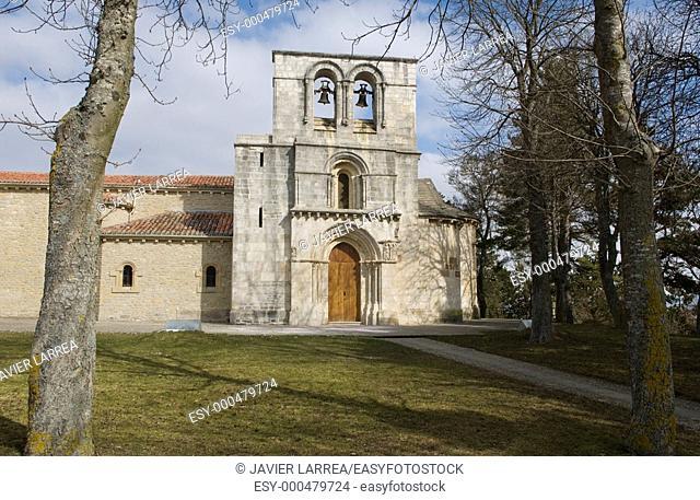 Romanesque sanctuary Our Lady of Estibaliz. Near Vitoria-Gasteiz. Alava. Euskadi. Spain