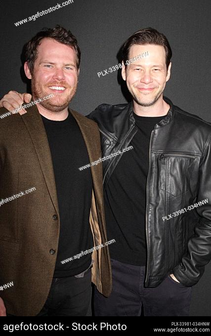 "Nick Cuse, Ike Barinholtz 03/09/2020 The Special Screening of """"The Hunt"""" held at The ArcLight Hollywood in Los Angeles, CA. Photo by I"
