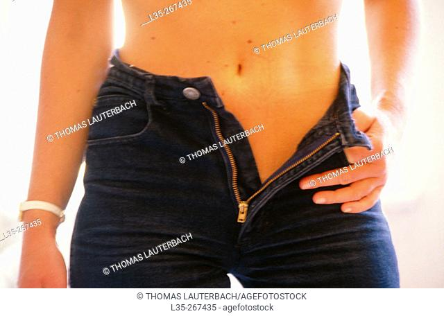 Woman's navel