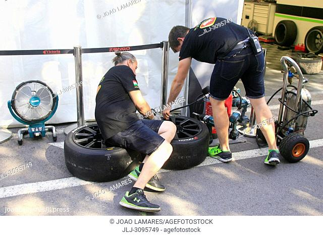 Pit Lane, WTCR Race of Portugal, Vila Real 23-25 de June 2018