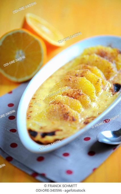 Orange with quatre ?pices