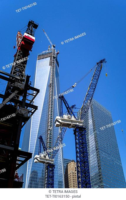 Freedom Tower under construction
