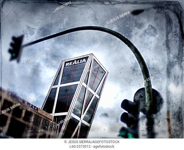 KIO tower Madrid, Spain