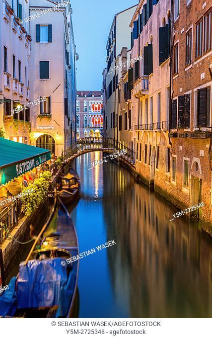 Rio de l'Alboro, Venice, Veneto, Italy, Europe