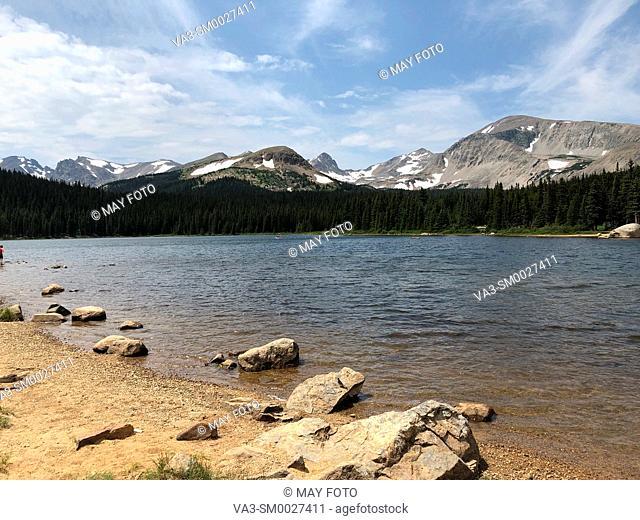 Ward, Indian Peaks Wilderness, Colorado, United States