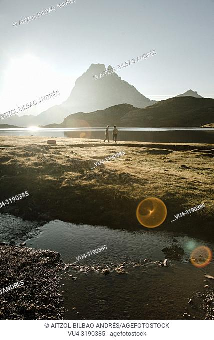 Just insane the view of the pic du midi from the Ayous lakes. Is one of the best sunrises that i`ve ever seen