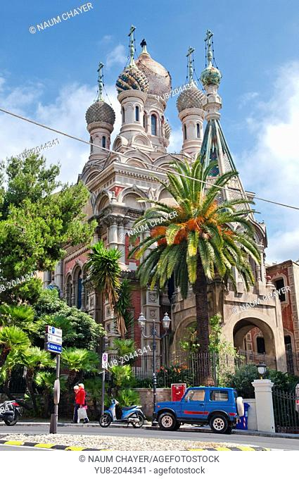 Russian Orthodox Church San Basilio, San Remo, Italy