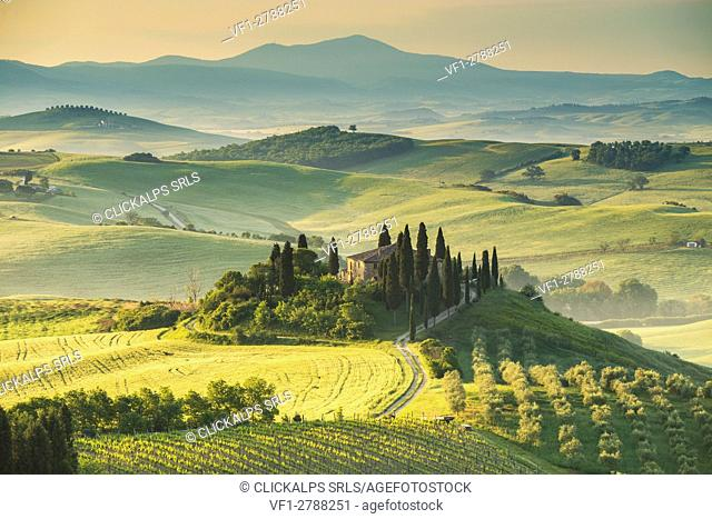 Podere Belvedere, San Quirico d'Orcia, Val d'Orcia, Tuscany, Italy