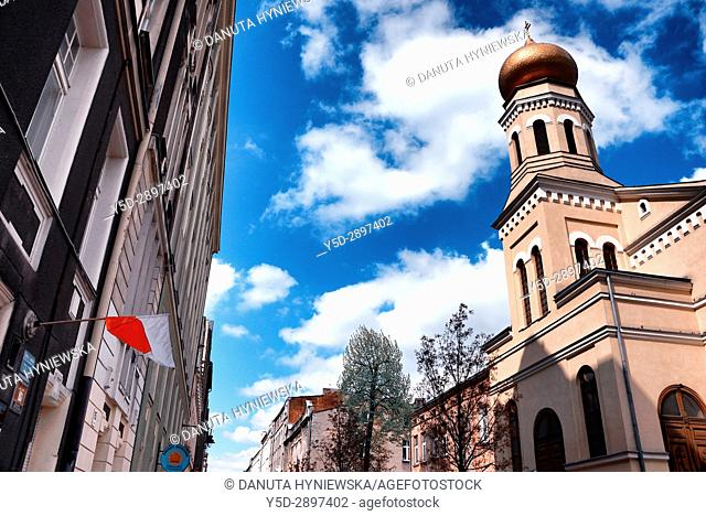 St. Olga orthodox church together with Cathedral of St. Alexander Nevskiy belongs to orthodox parish in Lodz, St. Olga church is situated at Piramowicza Steet...